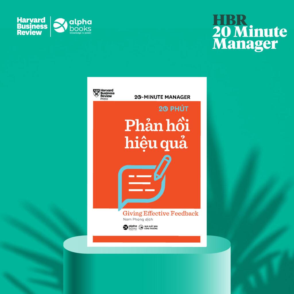 HBR - 20 Minute Manager - 20 Phút Phản Hồi Hiệu Quả