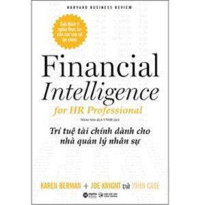 HBR - Financial Intelligence For HR Professionals - Trí Tuệ Tài Chính Dành Cho Nhà Quản Lý Nhân Sự