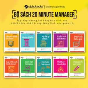 HBR - 20 Minute Manager (Trọn Bộ 10 Cuốn)