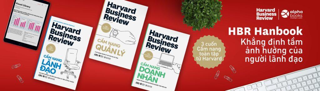 Harvard Business Review - Sách khẳng định tầm ảnh hưởng của người lãnh đạo