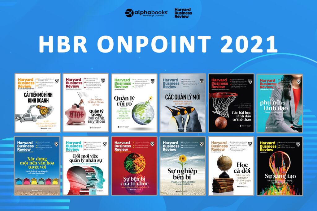 HBR OnPoint 2021 - Trọn bộ 12 cuốn (ảnh ngang)