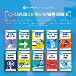 Combo HBR Guide to - Bí kíp kinh doanh từ Harvard