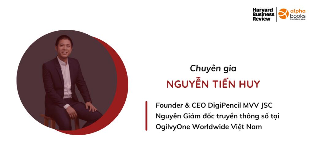 CEO Nguyễn Tiến Huy